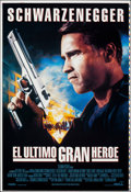 "Movie Posters:Action, Last Action Hero/Cliffhanger (Columbia, 1993). Rolled, Very Fine/Near Mint. Printer's Proof Spanish Language One Sheet (28"" ..."