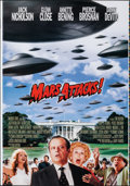 """Movie Posters:Science Fiction, Mars Attacks! (Warner Bros., 1996). Rolled, Very Fine/Near Mint. Printer's Proof One Sheet (28"""" X 40"""") SS Advance. Sc..."""