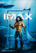"""Movie Posters:Action, Aquaman (Warner Bros., 2018). Rolled, Very Fine+. IMAX One Sheet (27"""" X 40"""") DS. Action.. ..."""