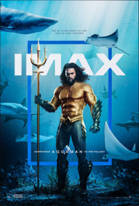 """Aquaman (Warner Bros., 2018). Rolled, Very Fine+. IMAX One Sheet (27"""" X 40"""") DS. Action"""