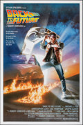 "Movie Posters:Science Fiction, Back to the Future (Universal, 1985). Very Fine-. One Sheet (27"" X 41"") SS, Drew Struzan Artwork. Science Fiction.. ..."