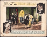 "The Dangerous Dude (Rayart Pictures, 1926). Fine-. Lobby Card (11"" X 14""). Action"
