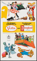 "Movie Posters:Animation, Bedknobs and Broomsticks (Buena Vista, 1971). Folded, Very Fine. Unassembled Theater Hanging Mobiles (2) (12.5"" X 21.5""). An... (Total: 2 Items)"