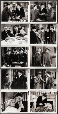 "The Crime of the Century (Paramount, 1933). Very Fine. Photos (53) (8"" X 10""). Mystery. ... (Total: 53 Items)"