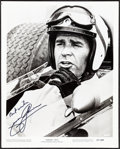"""James Garner in Grand Prix (MGM, 1967). Very Fine-. Autographed Photo (8"""" X 10""""). Sports"""