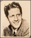 "Movie Posters:Miscellaneous, Rudy Vallee (c.1940s). Fine/Very Fine. Autographed Portrait Photo (8"" X 10""). Miscellaneous.. ..."