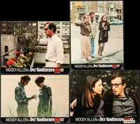 "Annie Hall & Other Lot (United Artists, 1977). Overall: Fine+. German Lobby Cards (5) (9"" X 11.75""), T..."