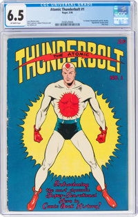Atomic Thunderbolt #1 (Regor Company, 1946) CGC FN+ 6.5 Off-white pages