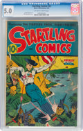 Golden Age (1938-1955):Superhero, Startling Comics #32 (Better Publications, 1945) CGC VG/FN 5.0 Off-white to white pages....