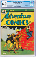 Golden Age (1938-1955):Superhero, Adventure Comics #56 (DC, 1940) CGC FN 6.0 Off-white to white pages....