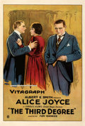 Movie Posters:Crime, The Third Degree (Vitagraph, 1919). Very Good on Linen.