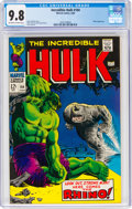 Silver Age (1956-1969):Superhero, The Incredible Hulk #104 (Marvel, 1968) CGC NM/MT 9.8 Off-white to white pages....