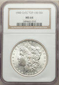 1900-O/CC $1 VAM-11 MS64 NGC. A Top 100 Variety. NGC Census: (96/23). PCGS Population: (37/11). MS64....(PCGS# 133963)
