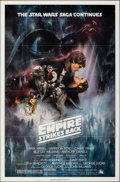"Movie Posters:Science Fiction, The Empire Strikes Back (20th Century Fox, 1980). Folded, Very Fine. One Sheet (27"" X 41"") Style A, Roger Kastel Artw..."
