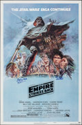 """Movie Posters:Science Fiction, The Empire Strikes Back (20th Century Fox, 1980). Folded, Very Fine+. Autographed One Sheet (27"""" X 41"""") Style B, Tom Jung Ar..."""