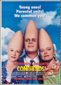 Movie Posters:Comedy, Coneheads/Last Action Hero (Paramount, 1993). Rolled, Very...