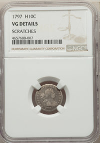 1797 H10C -- Scratches -- NGC Details. VG. NGC Census: (4/116). PCGS Population: (5/197). CDN: $1,500 Whsle. Bid for pro...
