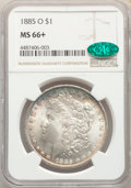 Morgan Dollars, 1885-O $1 MS66+ NGC. CAC. NGC Census: (4717/585). PCGS Population: (2853/358). CDN: $190 Whsle. Bid for problem-free NGC/PC...