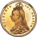 Great Britain, Great Britain: Victoria gold Proof 1/2 Sovereign 1887 PR66 Ultra Cameo NGC, ...