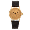 Estate Jewelry:Watches, Corum Lady's Gold Coin Watch. ...