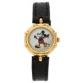 Estate Jewelry:Watches, Gerald Genta Lady's Gold Mickey Mouse Watch. ...
