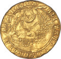 """Great Britain, Great Britain: Elizabeth I (1558-1603) gold """"Ship"""" Ryal of 15 Shillings ND (1584-1586) XF45 NGC,..."""