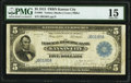 Fr. 801 $5 1915 Federal Reserve Bank Note PMG Choice Fine 15