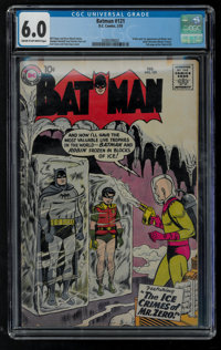 Batman #121 (DC, 1959) CGC FN 6.0 Cream to off-white pages