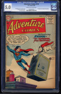 Adventure Comics #210 (DC, 1955) CGC VG/FN 5.0 Cream to off-white pages