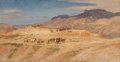 Works on Paper, Samuel Colman (American, 1832-1920). Through the Desert. Watercolor on paper. 9 x 17 inches (22.9 x 43.2 cm) (sight). ...