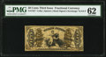 Fractional Currency:Third Issue, Fr. 1357 50¢ Third Issue Justice PMG Uncirculated 62.. ...