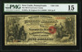 National Bank Notes:Pennsylvania, New Castle, PA - $5 Original Fr. 397a The National Bank of Lawrence County Ch. # 1156 PMG Choice Fine 15.. ...