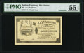 Obsoletes By State:Oklahoma, McAlester, IT- J. J. McAlester $2 190_ Remainder PMG About Uncirculated 55 EPQ.. ...