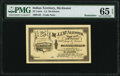Obsoletes By State:Oklahoma, McAlester, IT- J. J. McAlester 25¢ 190_ Remainder PMG Gem Uncirculated 65 EPQ.. ...
