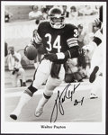 Autographs:Photos, 1980's Walter Payton Signed Photograph & Letter....