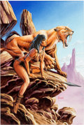 Original Comic Art:Paintings, Joe Jusko - Tiger Girl Painting Original Art (undated). ...