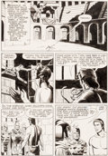 Original Comic Art:Panel Pages, Paul Norris and Mike Royer Edgar Rice Burroughs' Tarzan of the Apes #194 Story Page 11 Original Art (Gold Key/West...