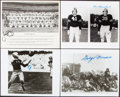 Autographs:Photos, 1980's-90's Football Hall of Famers Signed Photographs Lot...