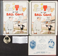 1922-35 Babe Ruth Lot of 4