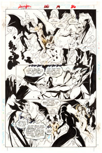 Joe Phillips and Bob Almond Silver Surfer #100 Story Page 19 Original Art (Marvel, 1995)