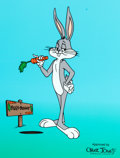 Animation Art:Seriograph, Bugs Bunny Limited Edition Sericel Print (Warner Brothers, 1999)....