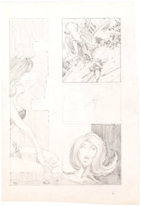 "Barry Smith Aspect #2 ""Tales of Hyperborea"" Preliminary Original Art (c. early 1970s)"