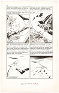 "Original Comic Art:Panel Pages, Angelo Torres Classics Illustrated Special Issue #167A ""Prehistoric World"" Story Pages 38, 39, and 42 Original Art... (Total: 3 Original Art)"