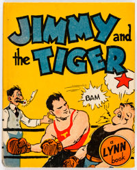 Big Little Book L15 Jimmy and the Tiger (Lynn, 1935) Condition: FN+