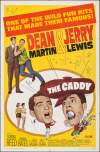 "The Caddy & Other Lot (Paramount, R-1964). Folded, Overall: Fine+. One Sheets (2) (27"" X 41""). Sports..."