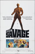 "Movie Posters:Adventure, Doc Savage: The Man of Bronze & Other Lot (Warner Bros., 1975). Folded, Overall: Fine/Very Fine. One Sheets (2) (27"" X 41"").... (Total: 2 Items)"