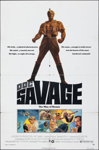 Doc Savage: The Man of Bronze & Other Lot (Warner Bros., 1975). Folded, Overall: Fine/Very Fine. One Sheets (2)...