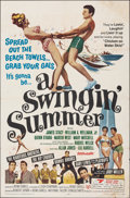 """Movie Posters:Rock and Roll, A Swingin' Summer & Other Lot (United Screen Arts, 1965). Folded, Fine. One Sheets (2) (27"""" X 41""""). Rock and Roll.. ... (Total: 2 Items)"""