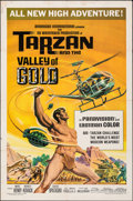 """Movie Posters:Adventure, Tarzan and the Valley of Gold & Other Lot (American International, 1966). Folded, Overall: Fine+. One Sheets (2) (27"""" X 41"""")... (Total: 2 Items)"""