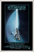 "Movie Posters:Science Fiction, Return of the Jedi (20th Century Fox, 1983). Rolled, Fine/Very Fine. One Sheet (27"" X 41"") Style A, Tim Reamer Artwork. Scie..."